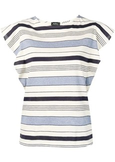 A.P.C. horizontal striped top