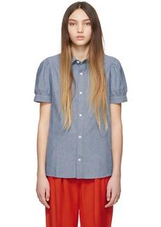 A.P.C. Indigo Agathe Shirt