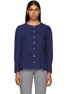 A.P.C. Indigo Herman Shirt