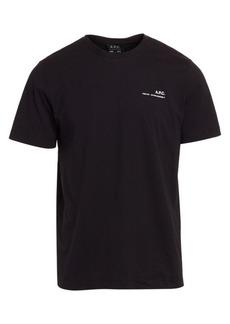 A.P.C. Item Graphic T-Shirt