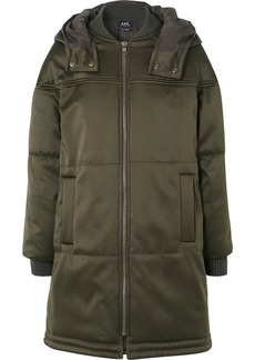 A.P.C. Ivy Quilted Shell Coat