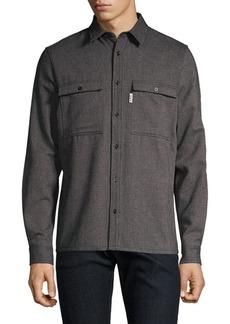 A.P.C. Jacquard Stripe Button-Down Shirt