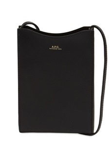 A.P.C. Jamie Leather Neck Pouch
