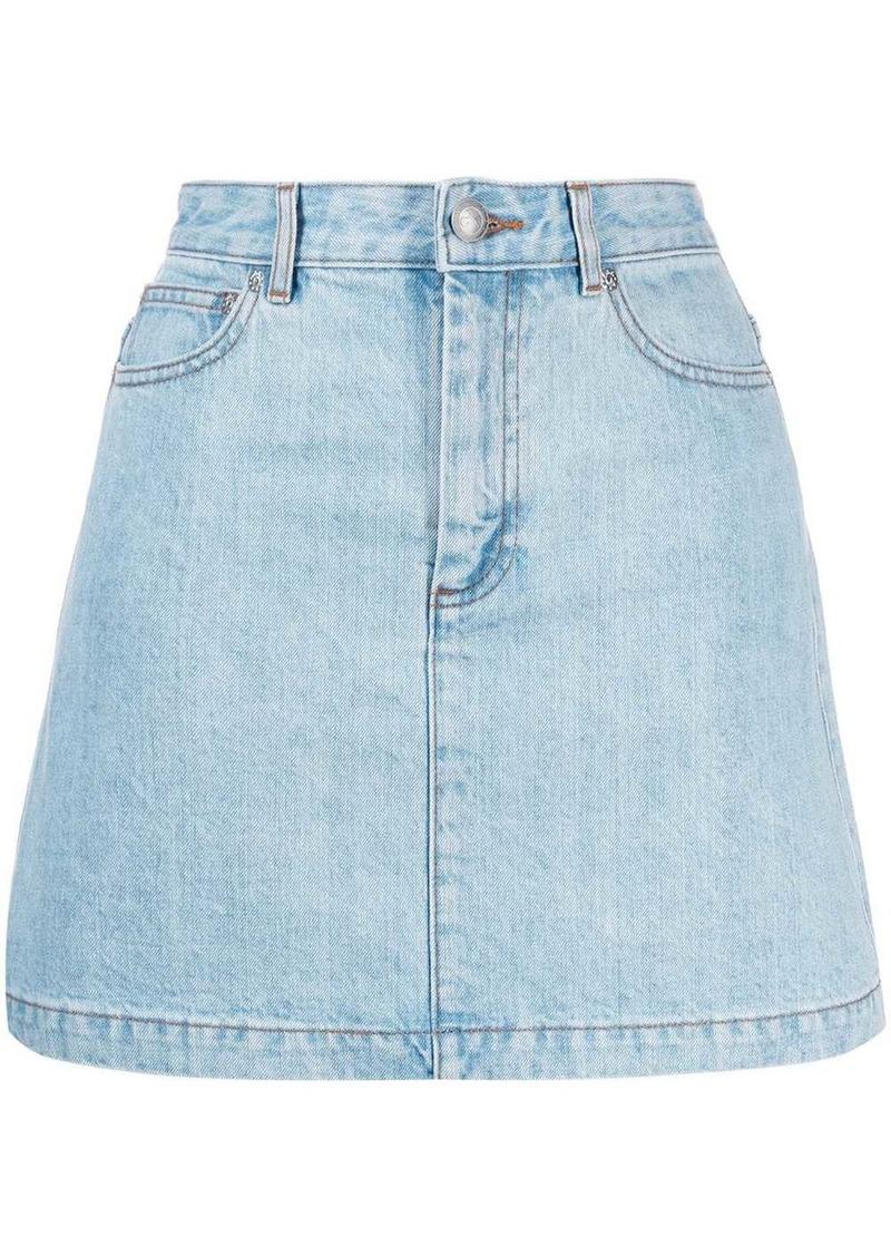 A.P.C. jean skirt