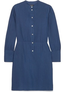 A.P.C. Kimya Jacquard Mini Dress