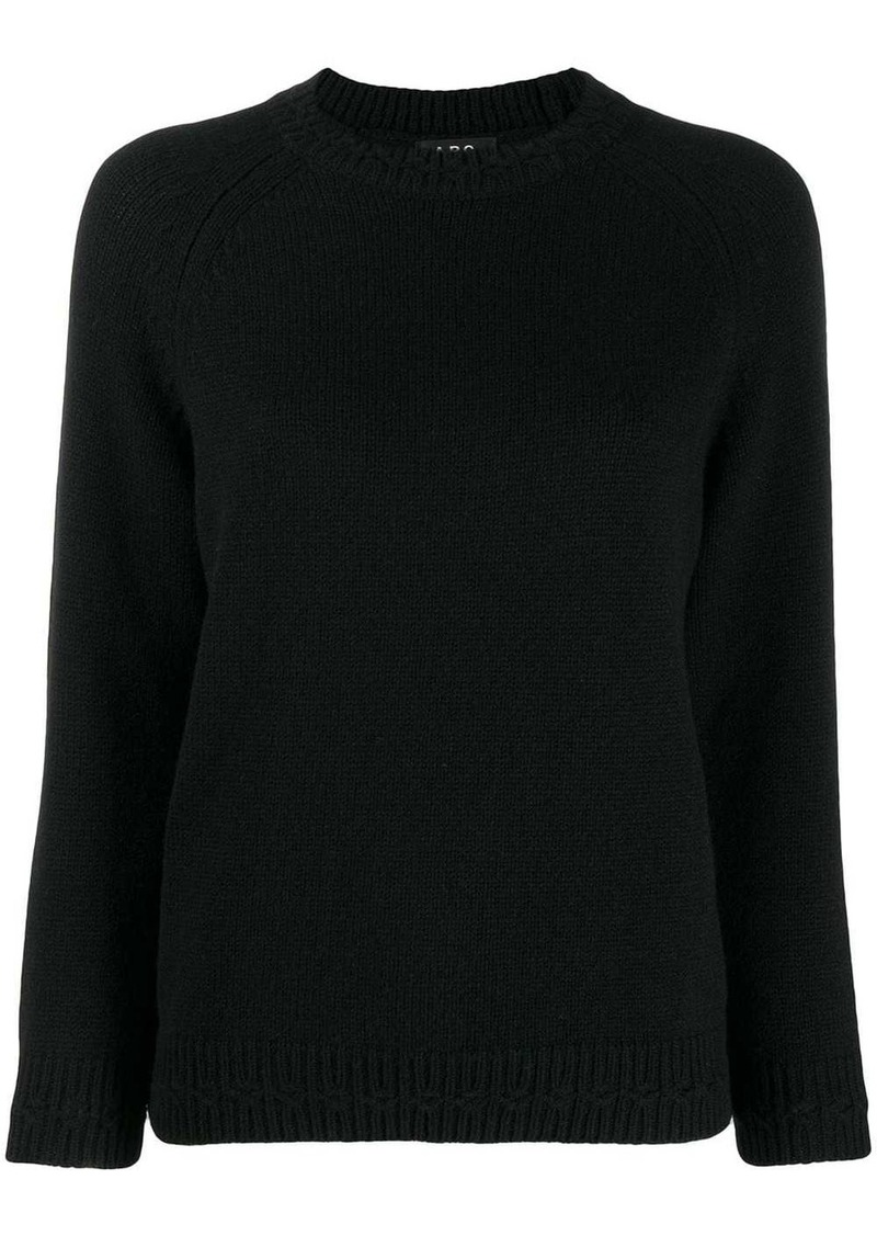 A.P.C. knitted jumper