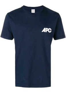 A.P.C. logo crewneck T-shirt
