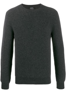 A.P.C. long-sleeve fitted sweater