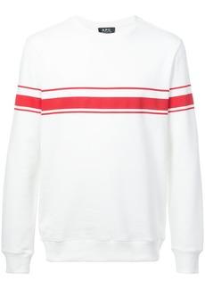A.P.C. long-sleeve sweatshirt