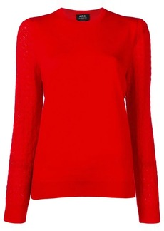 A.P.C. long sleeved top