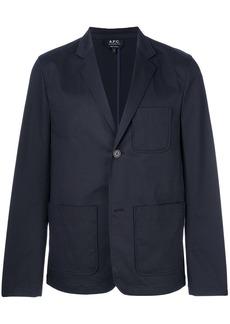 A.P.C. loose fit blazer