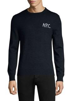 A.P.C. Merino Wool Crew Sweater