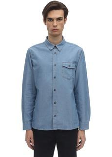 A.P.C. Michel Cotton Chambray Shirt