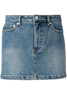A.P.C. mini denim skirt