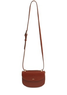 A.P.C. Mini Genève Smooth Leather Bag