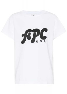 A.P.C. Nancy printed cotton T-shirt