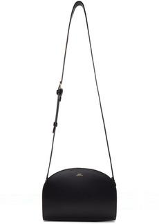 A.P.C. Navy Half-Moon Bag