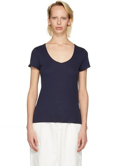A.P.C. Navy Paula T-Shirt