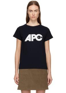 A.P.C. Navy U.S. Sheena T-Shirt