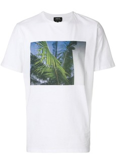 A.P.C. palm tree T-shirt