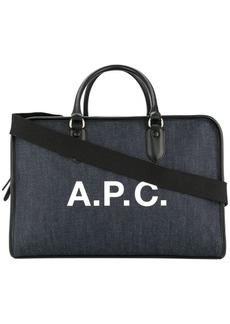dbadce4e3e On Sale today! A.P.C. Elliott Fabric Duffle Bag