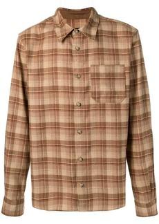 A.P.C. plaid casual shirt