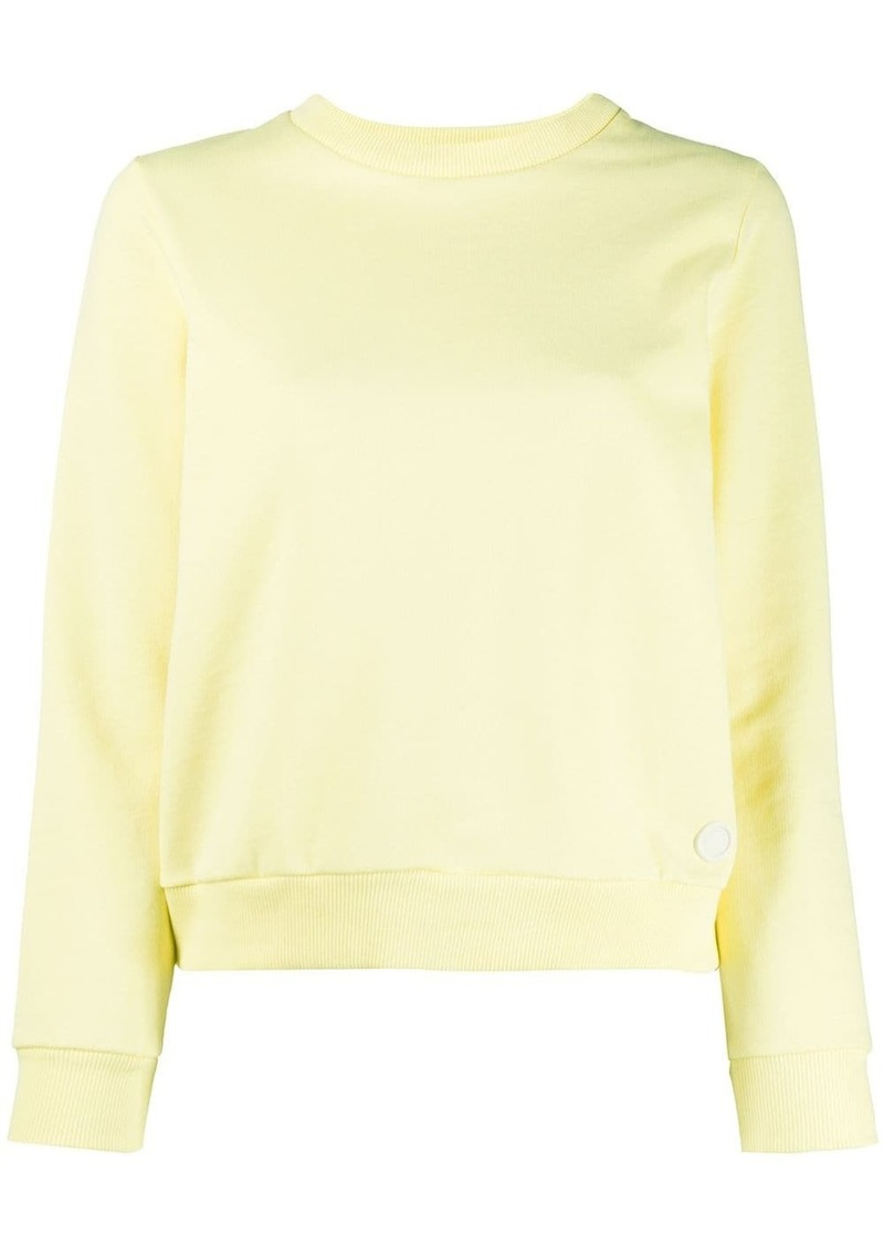 A.P.C. plain crew neck sweatshirt
