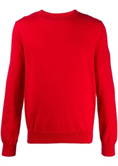 A.P.C. plain crew neck sweatshirt