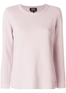 A.P.C. plain sweatshirt