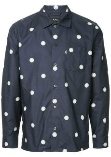 A.P.C. polka dot shirt