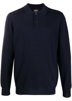 A.P.C. polo neck knitted sweater