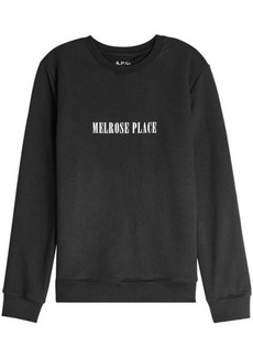 A.P.C. Printed Cotton Sweatshirt