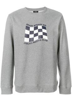 A.P.C. Ready Steady Go sweatshirt