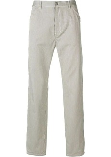 A.P.C. regular striped trousers
