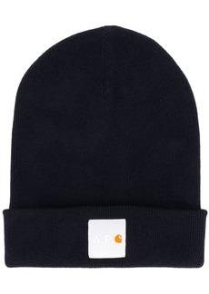 A.P.C. x Carhartt WIP ribbed knit logo hat