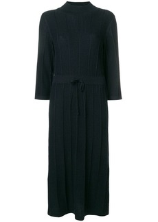 A.P.C. ribbed knit midi dress