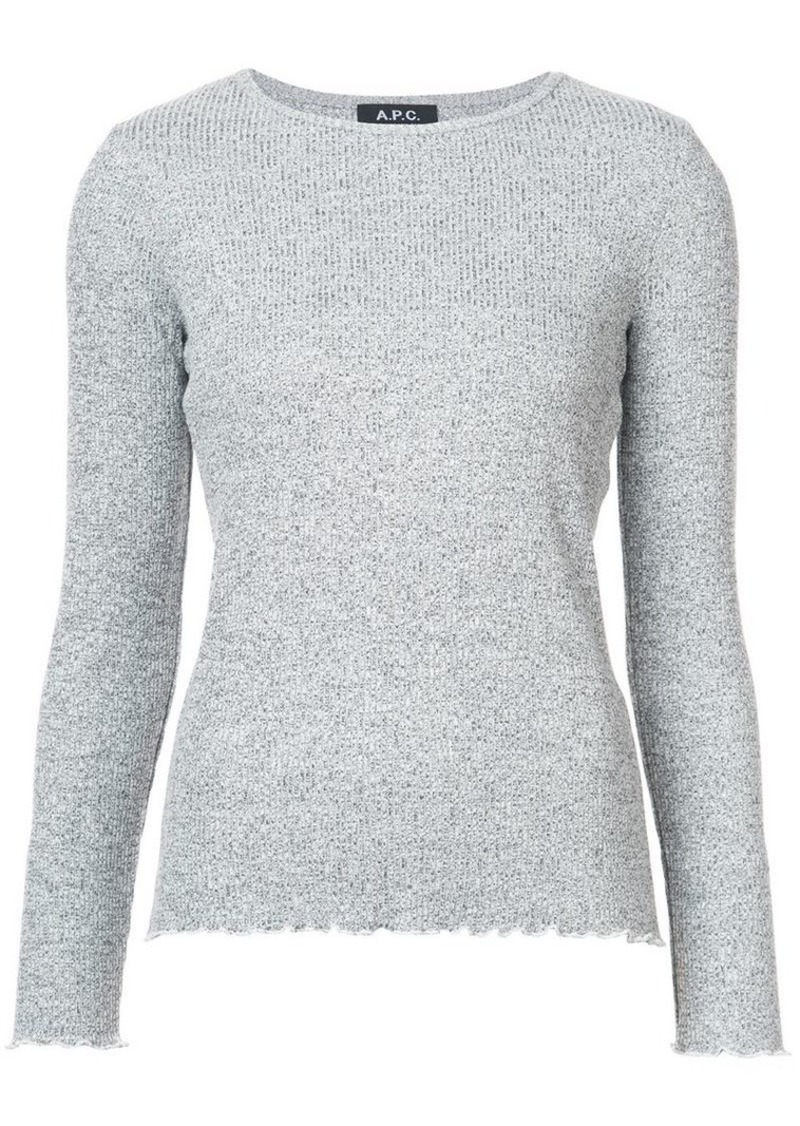 A.P.C. ribbed top