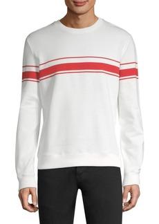 A.P.C. Robin Striped Cotton Sweatshirt