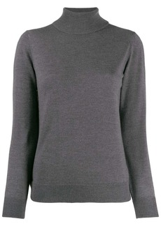 A.P.C. roll-neck fitted sweater