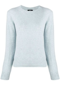 A.P.C. round neck sweater