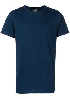 A.P.C. round neck T-shirt