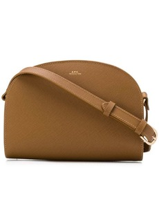 A.P.C. rounded crossbody bag