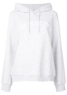 A.P.C. San Francisco print hoodie