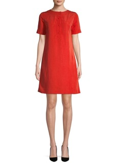 A.P.C. Short-Sleeve A-Line Dress