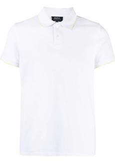 A.P.C. short-sleeve polo shirt