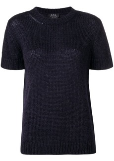 A.P.C. short sleeve sweater