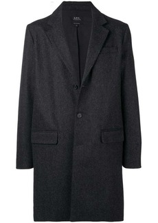 A.P.C. single breasted coat
