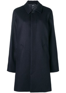A.P.C. straight fit coat