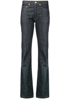 A.P.C. straight leg denim jeans