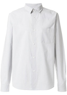 A.P.C. striped fitted shirt